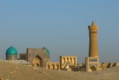Panorama of Bukhara, Uzbekistan Royalty Free Stock Images