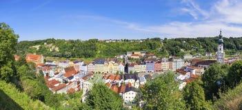 Panorama Burghausen Royalty Free Stock Photography