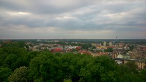 Panorama of Bydgoszcz Royalty Free Stock Photos