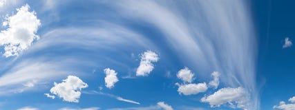 Panorama céu verão kiev ucrânia Imagens de Stock