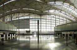 Panorama C d'aéroport Images libres de droits