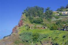 Panorama of Cabo Girao. Madeira, Portugal Royalty Free Stock Image