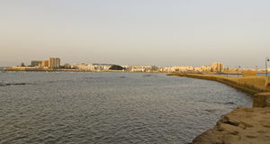 Panorama of Cadiz Stock Image