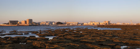 Panorama of Cadiz. Cadiz, Andalusia, Spain Stock Photography