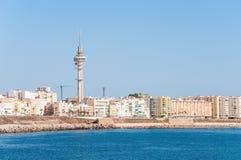 Panorama of Cadiz in Spain Stock Image