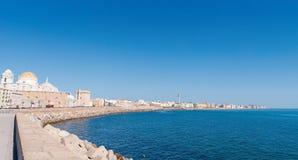 Panorama of Cadiz in Spain Royalty Free Stock Image