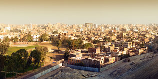 Panorama on Cairo Royalty Free Stock Photos
