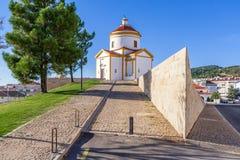 Panorama of the Calvario Church in Portalegre Stock Photos