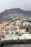 Panorama of Camara de Lobos on Madeira Royalty Free Stock Photos