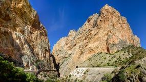 Panorama Caminito Del Rey Stockfotografie