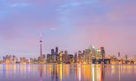 Panorama Canadá de Toronto imagen de archivo