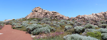 Panorama of Canal Rocks west Australia Royalty Free Stock Photos