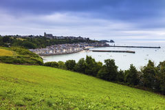 Panorama of Cancale Stock Images