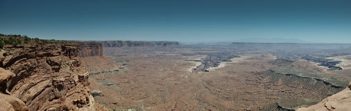 Panorama Canyonlands Fotografia de Stock Royalty Free