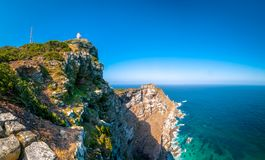 Panorama - Cape of the Good Hope - South Africa.  Royalty Free Stock Photography