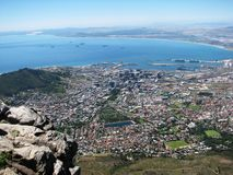 Panorama Cape Town Royalty Free Stock Photos
