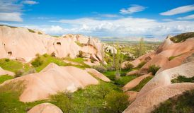 Panorama in Cappadocia Royalty Free Stock Image