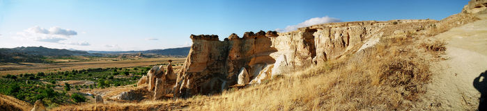 Panorama of Cappadocia Royalty Free Stock Photos