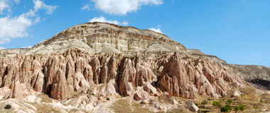 Panorama of Cappadocia royalty free stock image