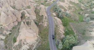 Panorama of Cappadocia stock video footage