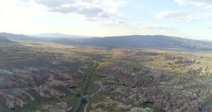 Panorama of Cappadocia stock video