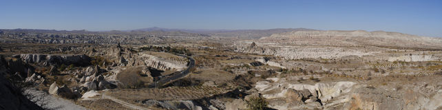 Panorama of Cappadocia Stock Photos