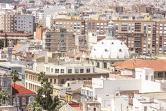 Panorama of Cartagena, Spain Royalty Free Stock Photography