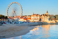 Panorama of Cascais, Portugal Royalty Free Stock Photography