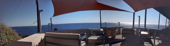 Panorama  Cascais restaurant royalty free stock photo