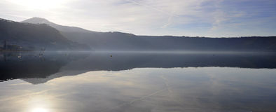 Castel Gandolfo lake Royalty Free Stock Photo