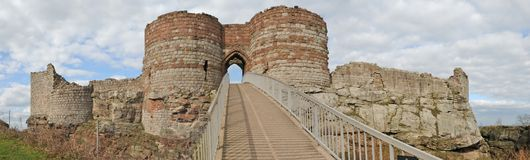 Panorama of the castle Royalty Free Stock Images