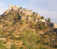 Panorama, Castle and fortified walls Stock Photos
