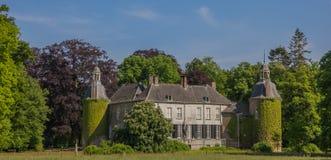 Panorama of Castle Hackfort near Vorden in Gelderland Royalty Free Stock Images