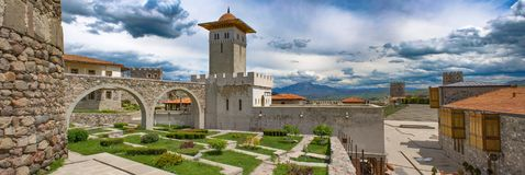 Panorama of the Castle, Georgia, May.2017 Stock Image