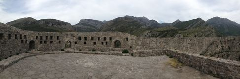 Panorama from castle ruin Royalty Free Stock Images
