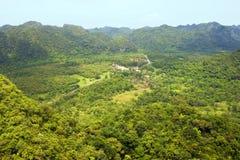 Panorama of Cat Ba National Park Stock Image