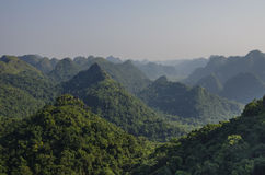 Panorama of Cat Ba National Park. In Vietnam Stock Images