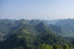 Panorama of Cat Ba National Park. In Vietnam Stock Image