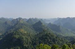 Panorama of Cat Ba National Park. In Vietnam Stock Photos