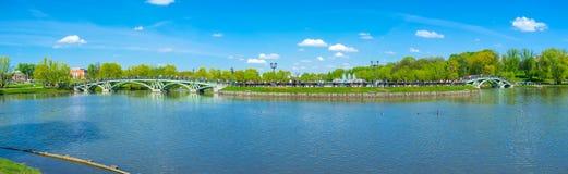 Panorama of Catherine's Island Stock Photos