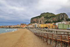 Panorama of Cefalù - Sicily Royalty Free Stock Photography