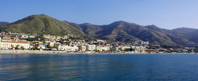 Panorama Cefalu Royalty Free Stock Image