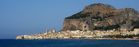 Panorama cefalu - sicily Royalty Free Stock Photo