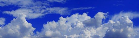 Panorama celestial Fotografia de Stock