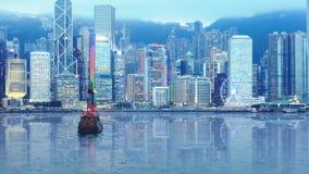 Panorama of central Hong Kong royalty free stock photography