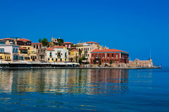 Panorama of Chania, Crete, Greece Royalty Free Stock Photo