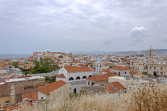 Panorama of Chania, Crete Island Royalty Free Stock Photos