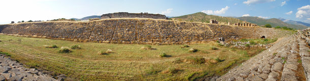 Panorama, chariot racing stadium Royalty Free Stock Photography