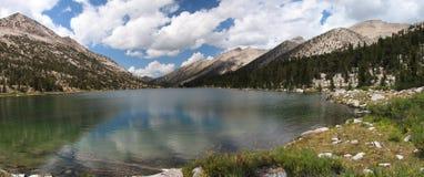 panorama charlotte jeziora. Zdjęcia Stock