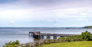 Panorama Chesapeake Bays Maryland Lizenzfreies Stockfoto
